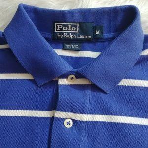 R.L. Polo striped polo shirt